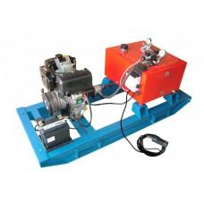 Насосные гидравлические станции с дизельным приводом, с электромагнитным распределителем