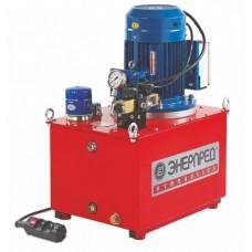 Насосные гидравлические станции с электроприводом, с электромагнитным распределителем