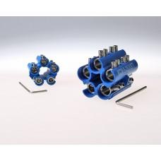 Блоки соединителей в полимерном корпусе